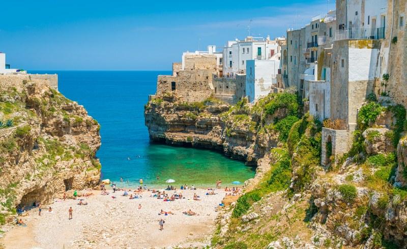 La Puglia è tra le prime quattro regioni italiane per numero di turisti